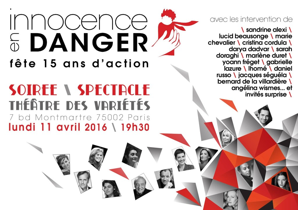 2016 | Paris | Innocence En Danger 15ANS